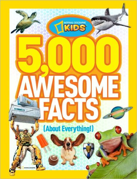 5,000 Awesome Facts (about Everything!) - ISBN13: 1426310498